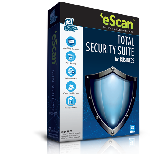 eScan Total Security Suite for Business